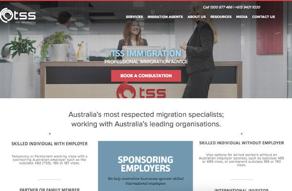 TSS Immigration